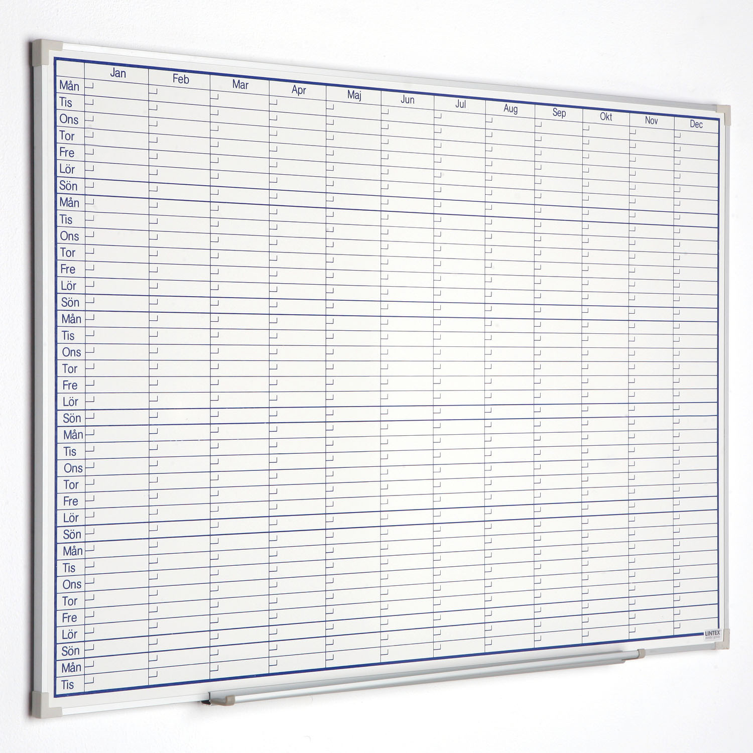 Boarder Attendance Writing Board