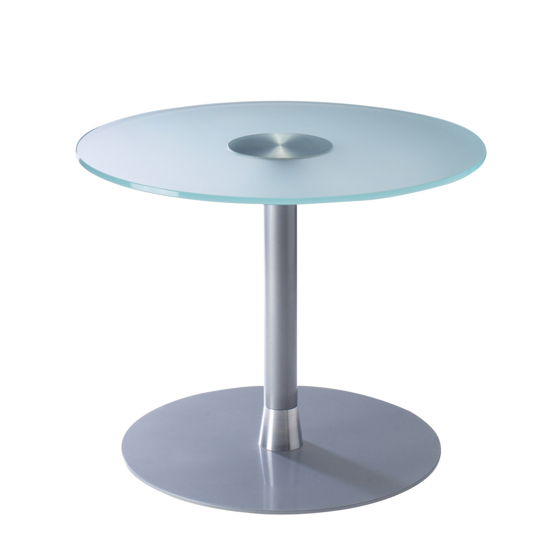 Bobbin Glass Round Table