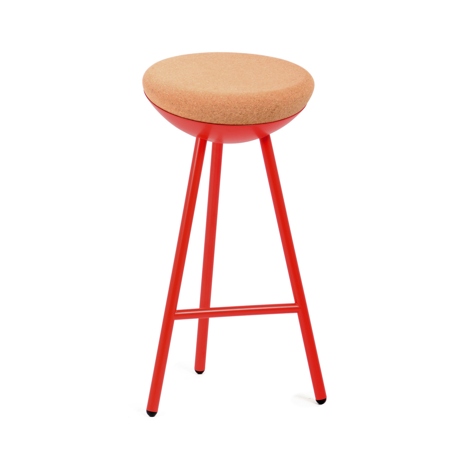 Red Boet Barstool
