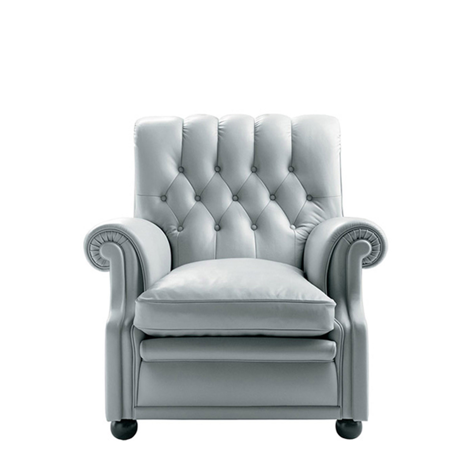Bonnie Armchairs - White Leather