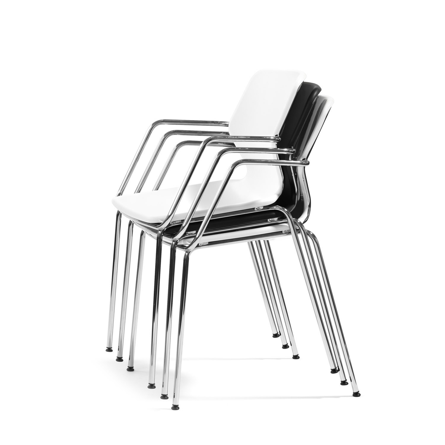 Boo 049 Stacking Chairs by Bla Station