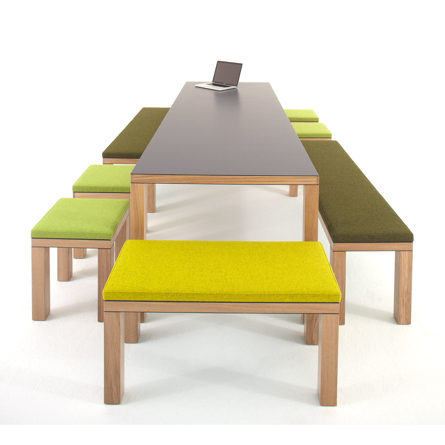 Bosa Table, Benches and Stools