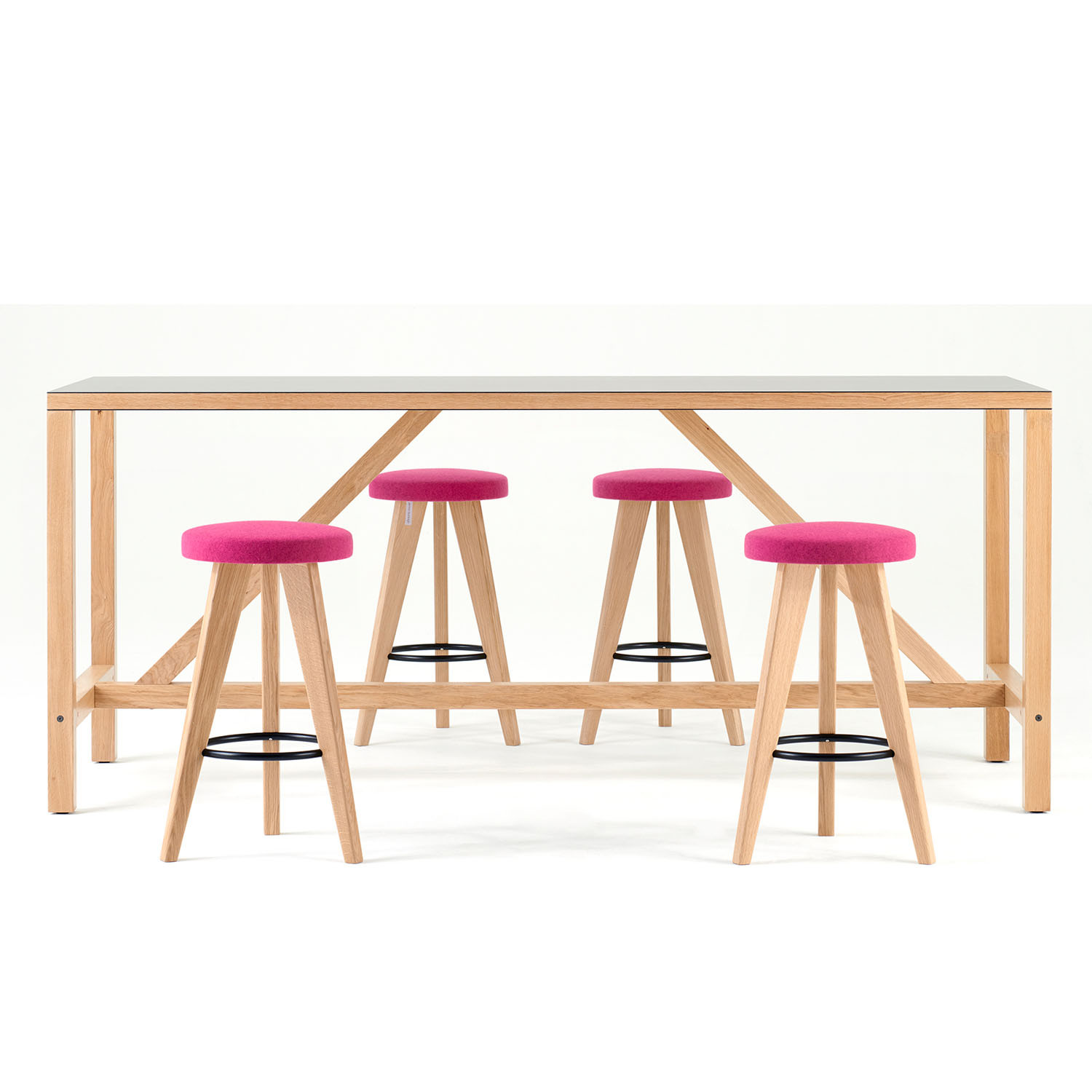 Bosa High Table and Bar Stools
