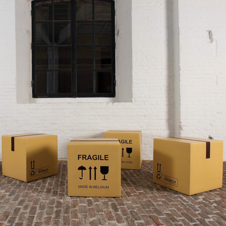 Pieter Jamart Fragile Box Stools