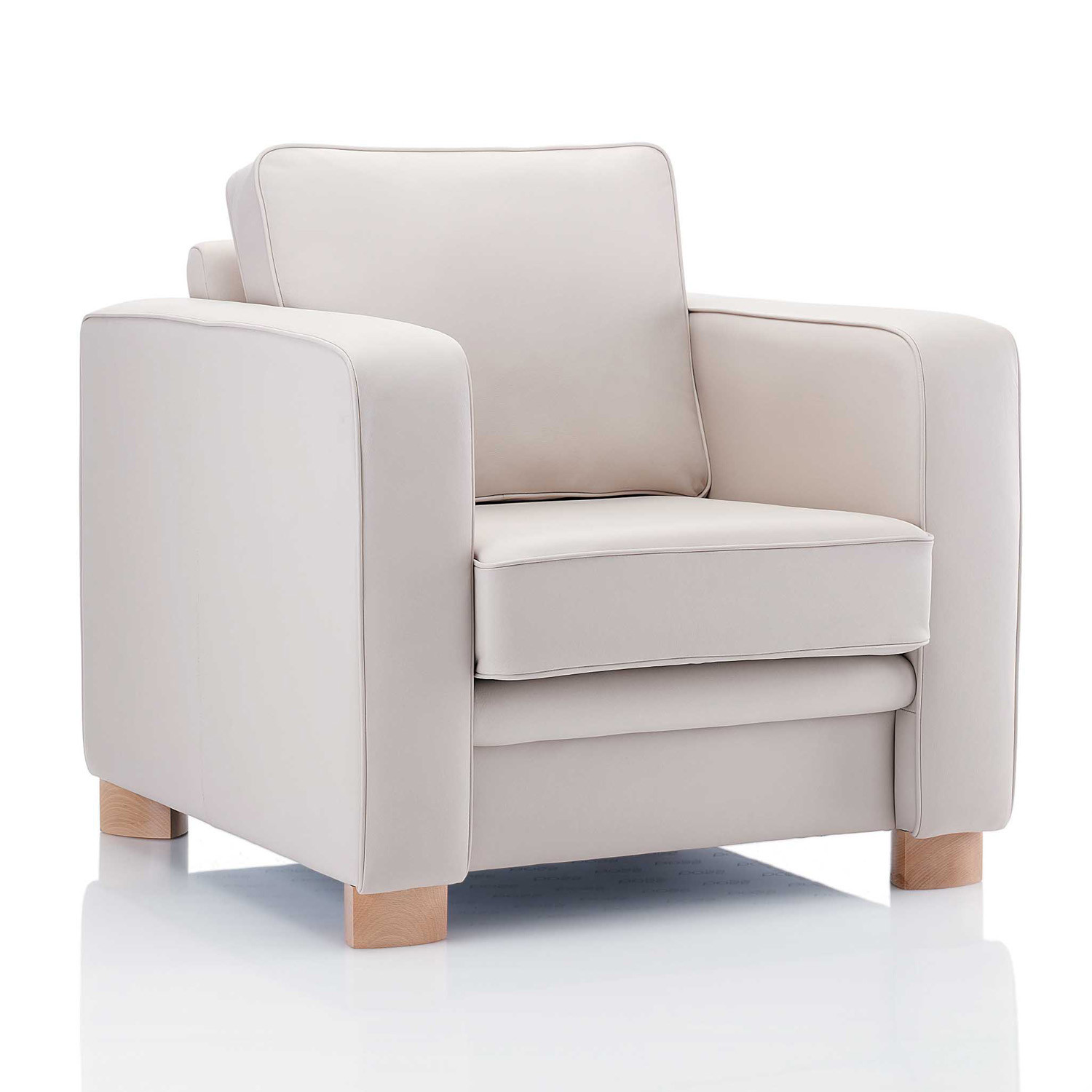Boxer Fully-Upholstered Armchair
