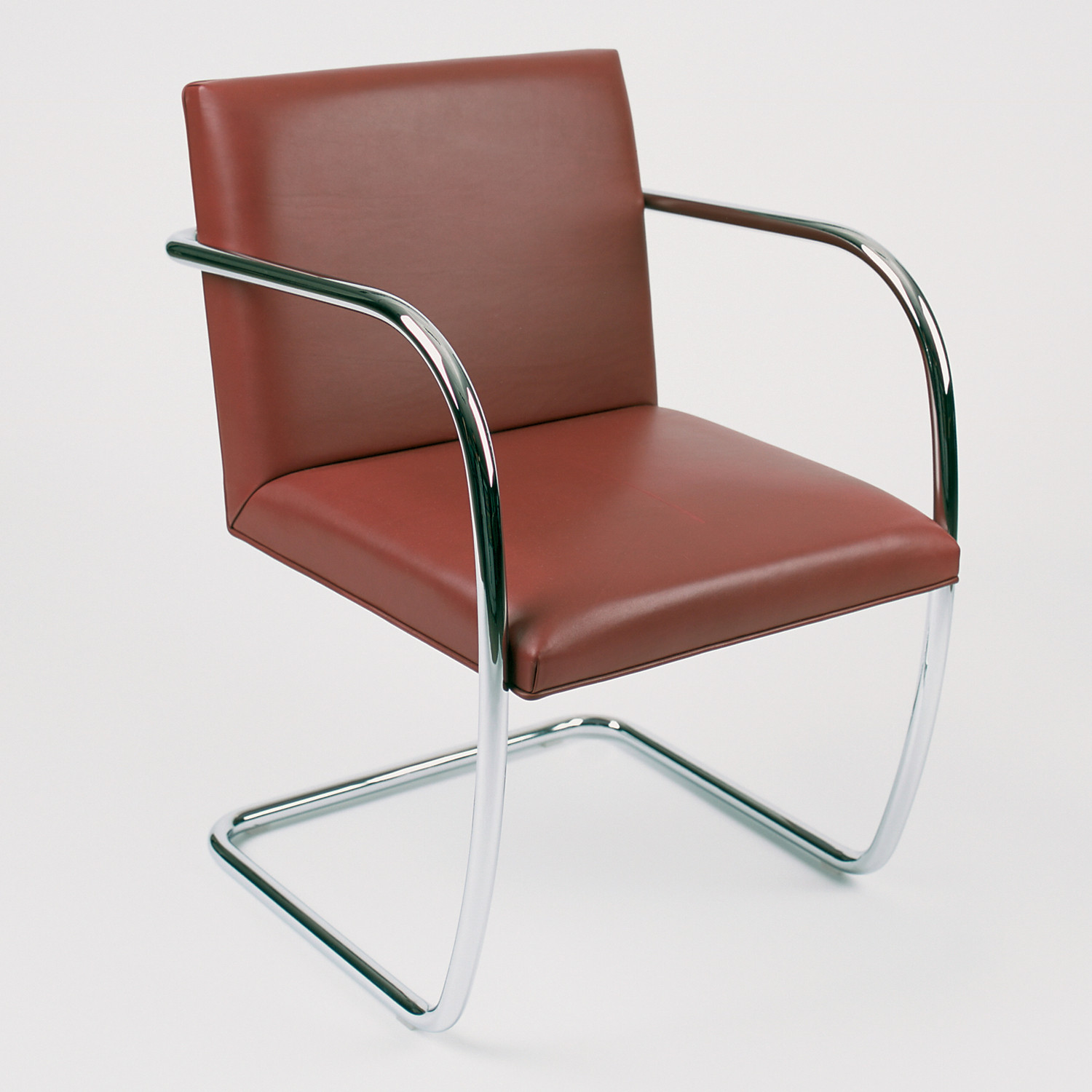 Knoll Tubular Brno Chair in Spinneybeck Leather
