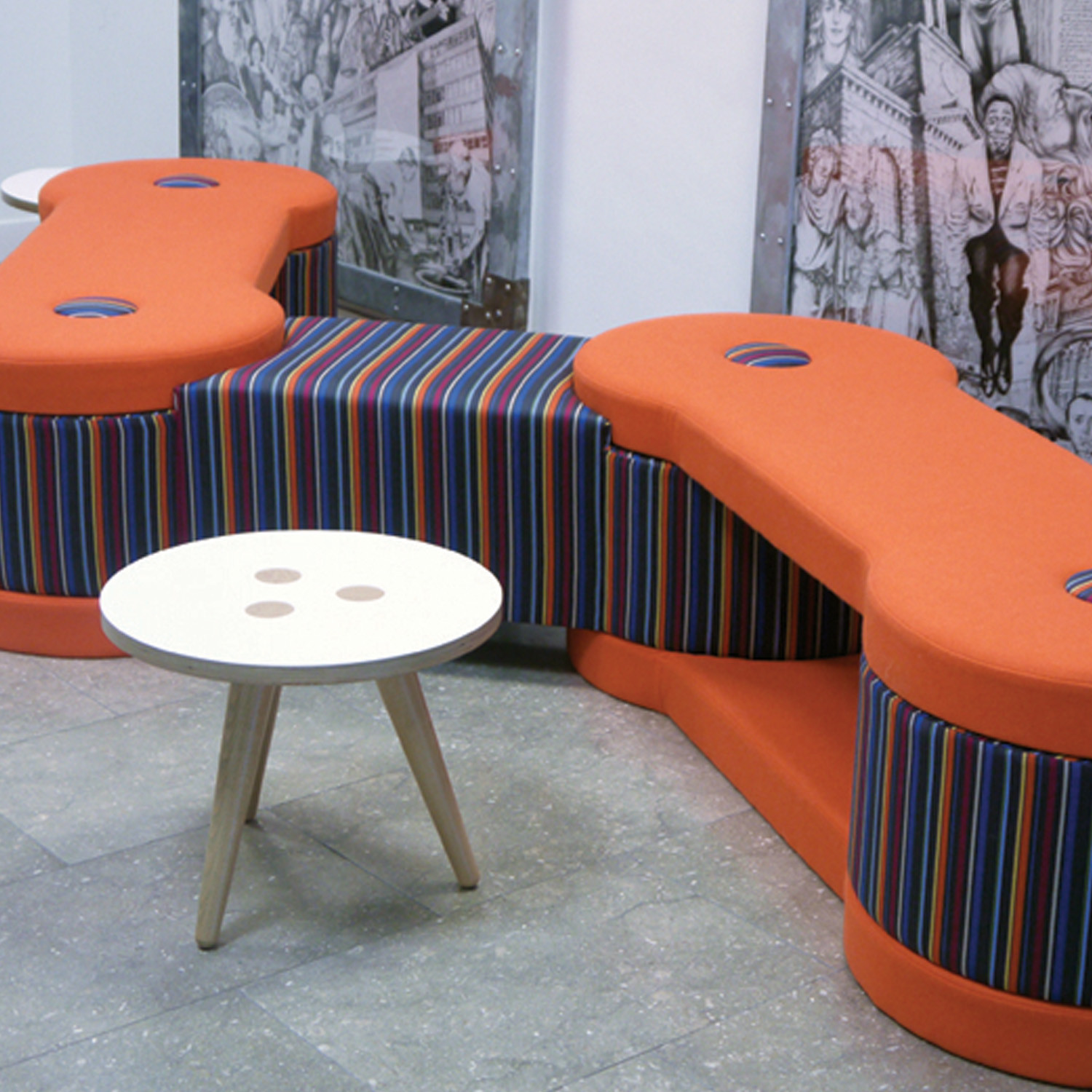Brunel Modular Bench Seating by Spacestor