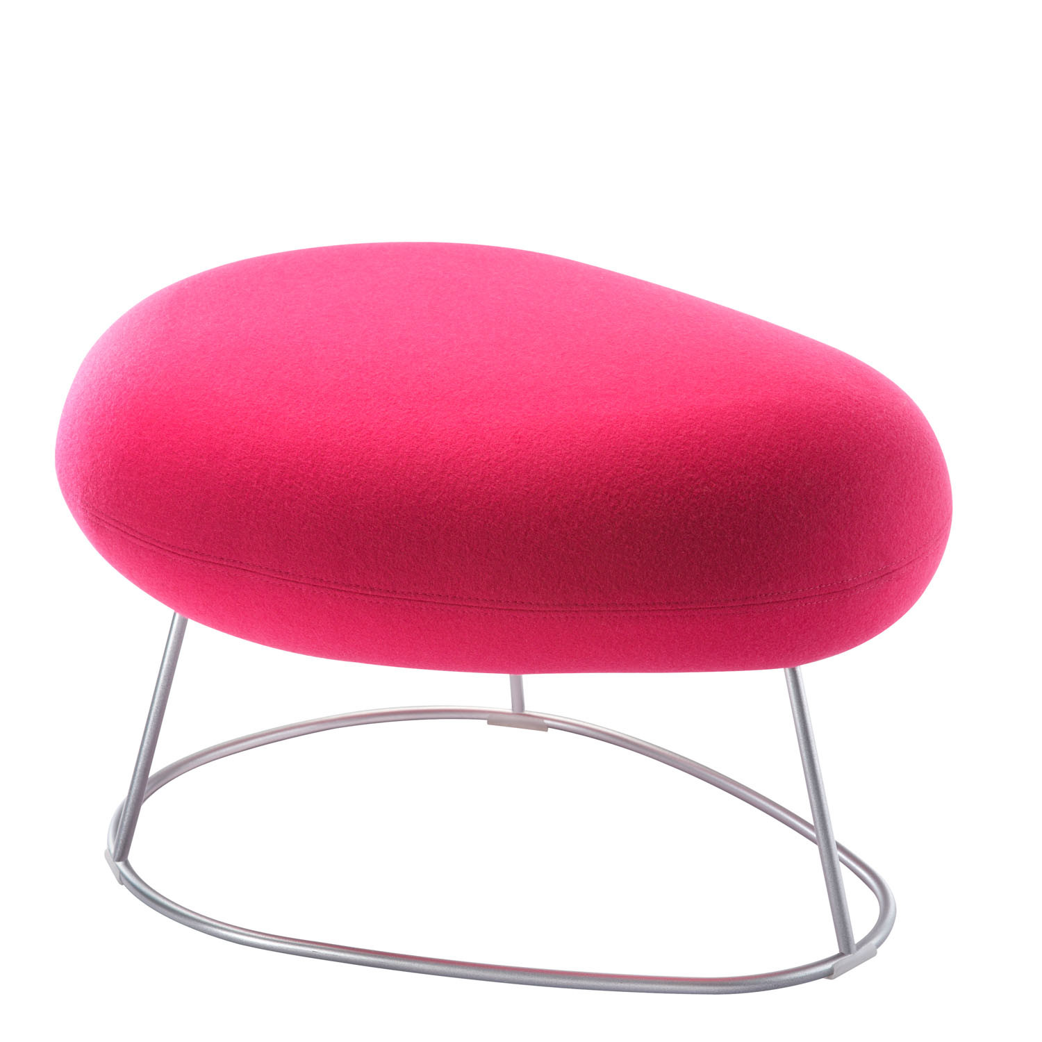 Bubble Footstool with Wire Base