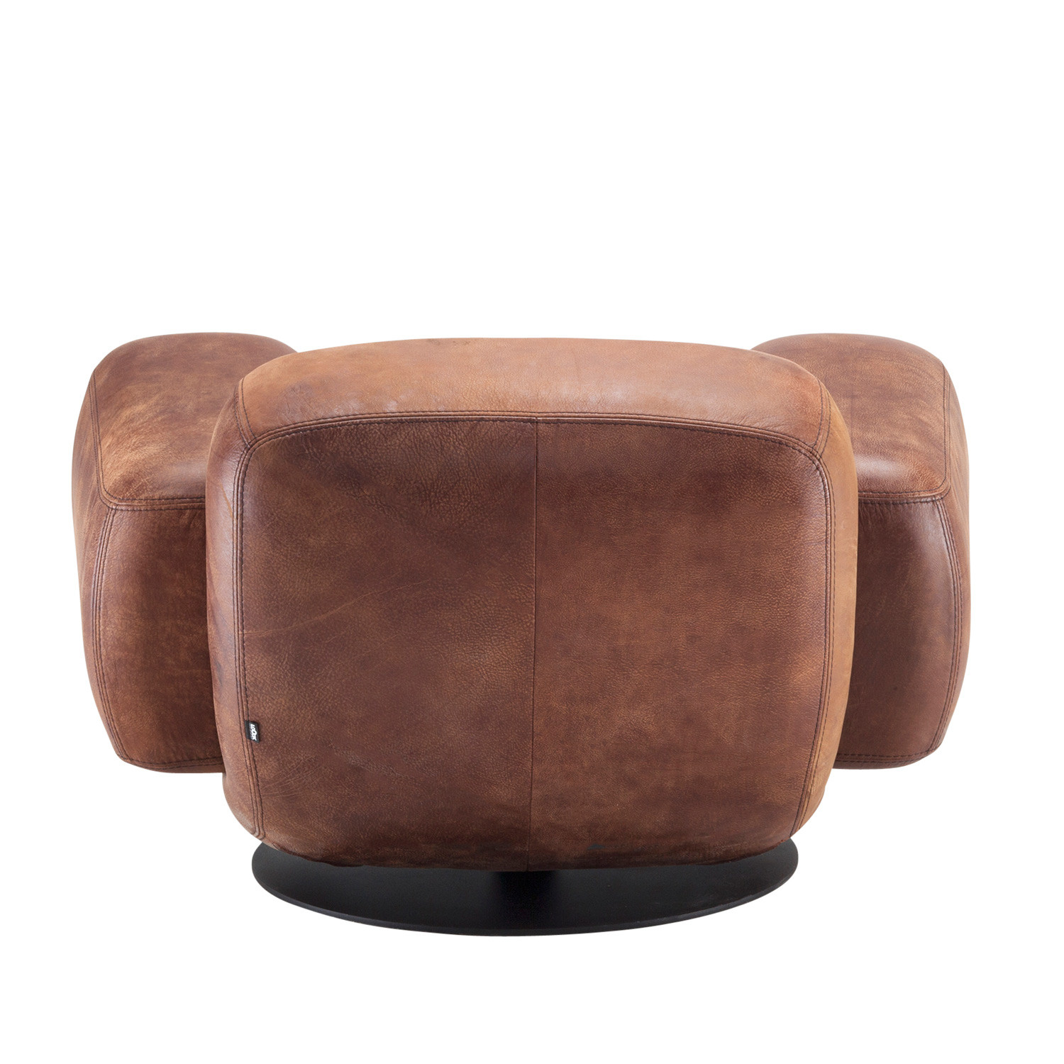Bulldog Armchair Back Detail
