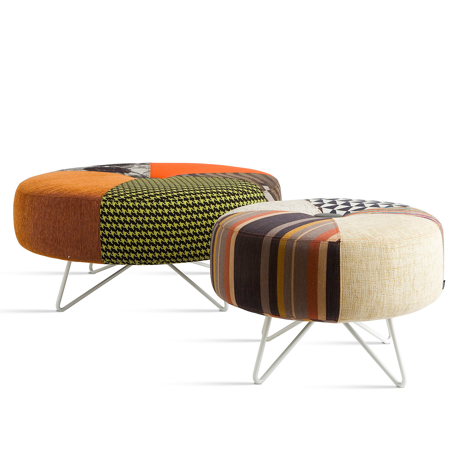 Contemporary Button Spare Parts Stools