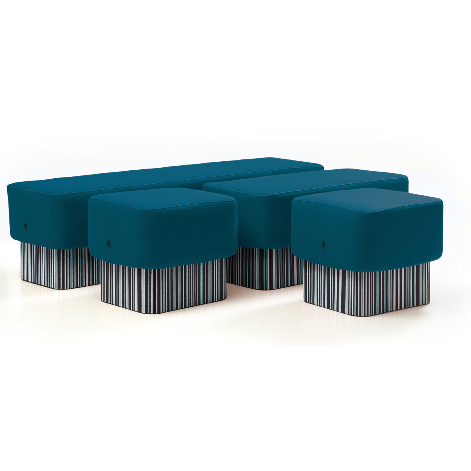 BuzziSeat Stool and Benches by BuzziSpace