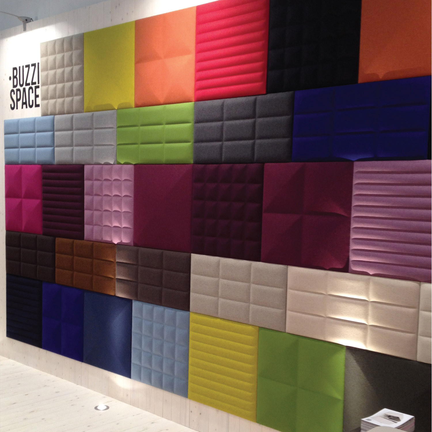 BuzziTile 3D Panels Colour