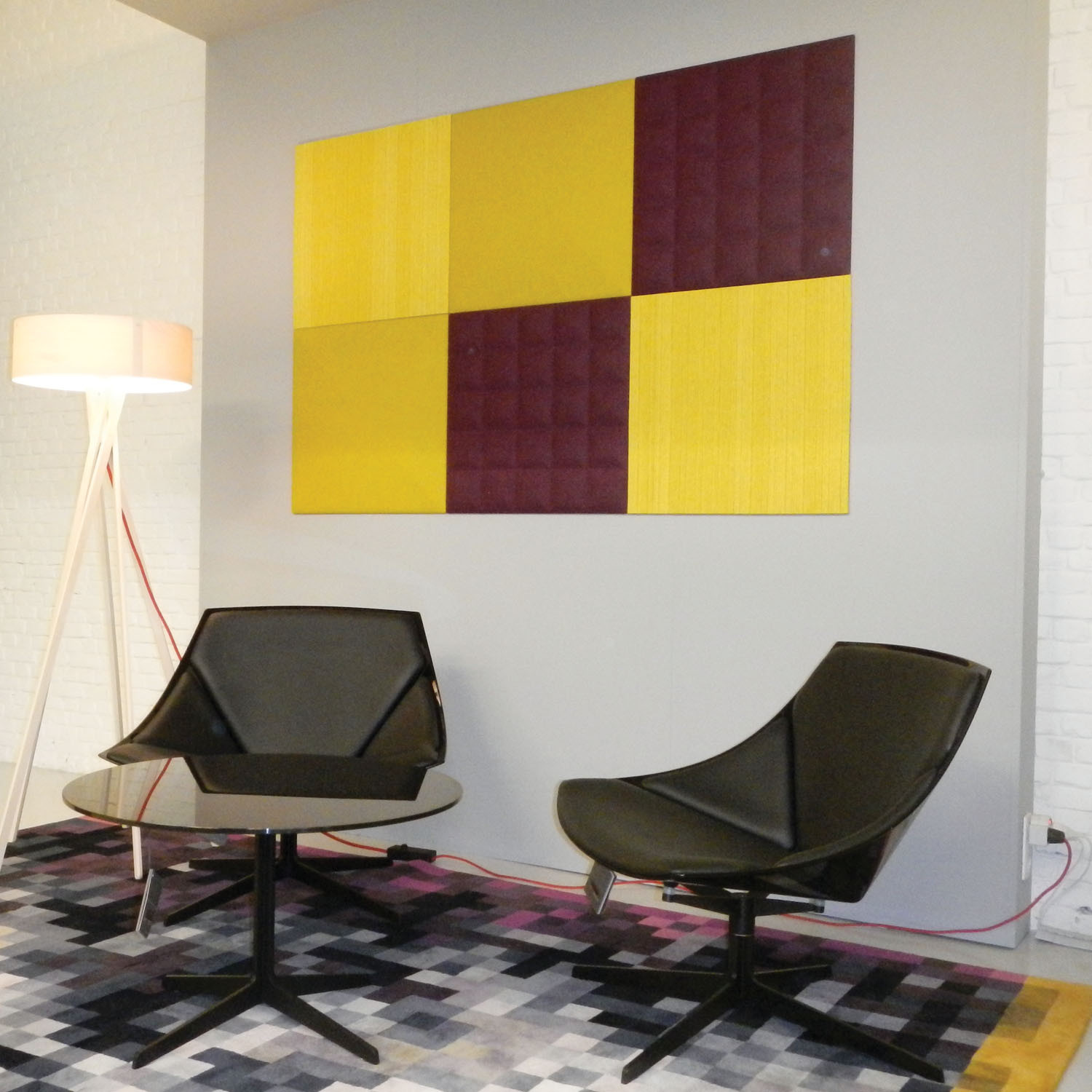 BuzziTile 3D Acoustic Wall Panels by BuzziSpace