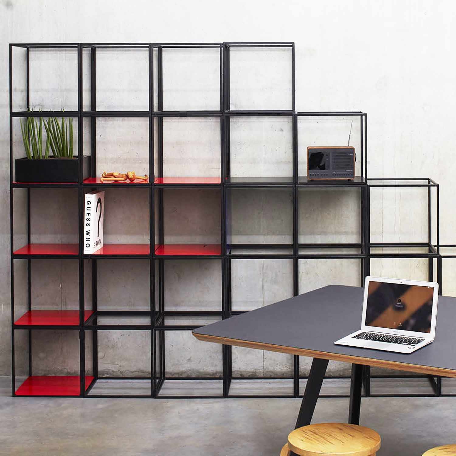 Cage Shelving Fully Customisable