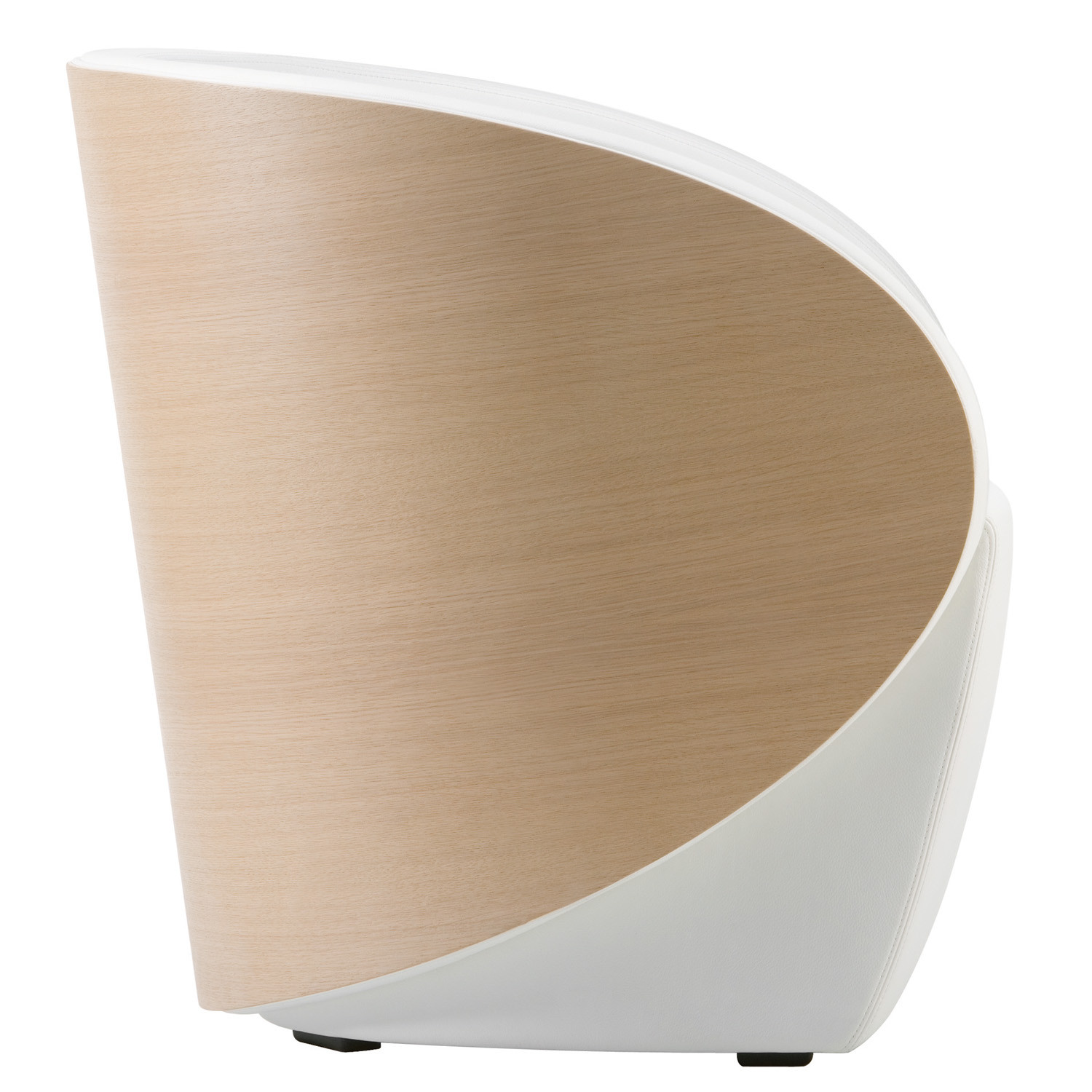 Cala Armchair with wooden shell
