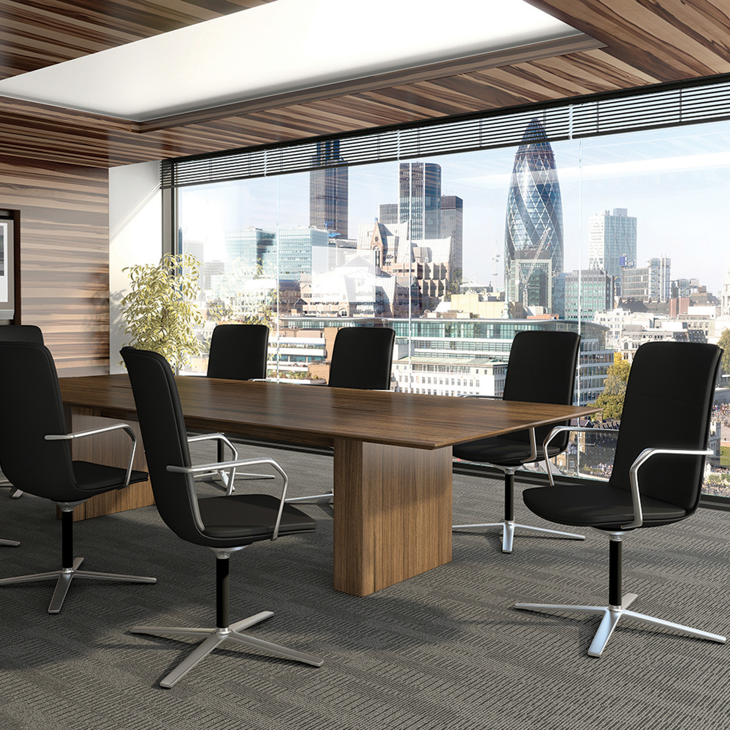 Calder Office Meeting Chairs by Orangebox
