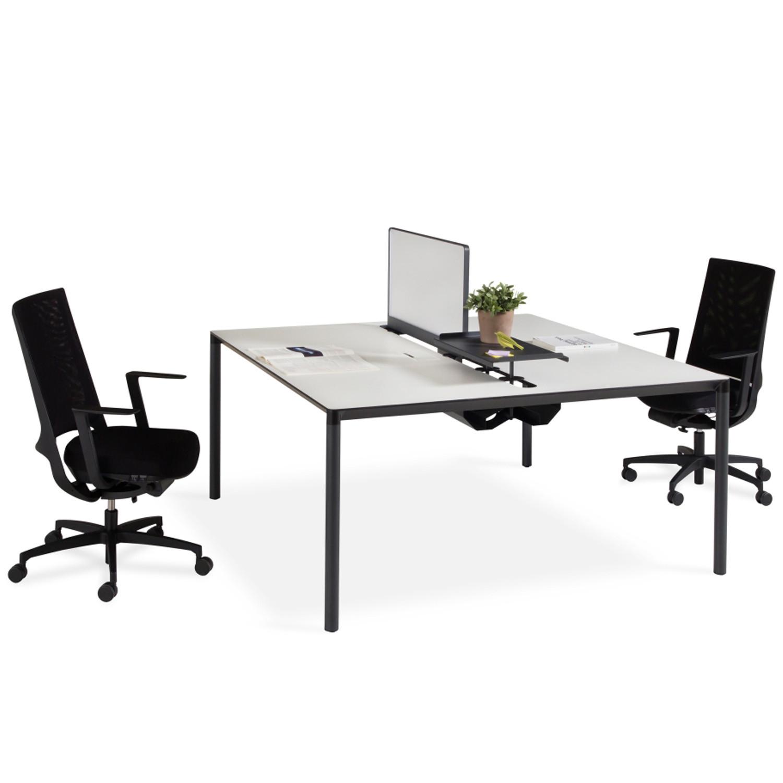Calvino Single Bench Desks