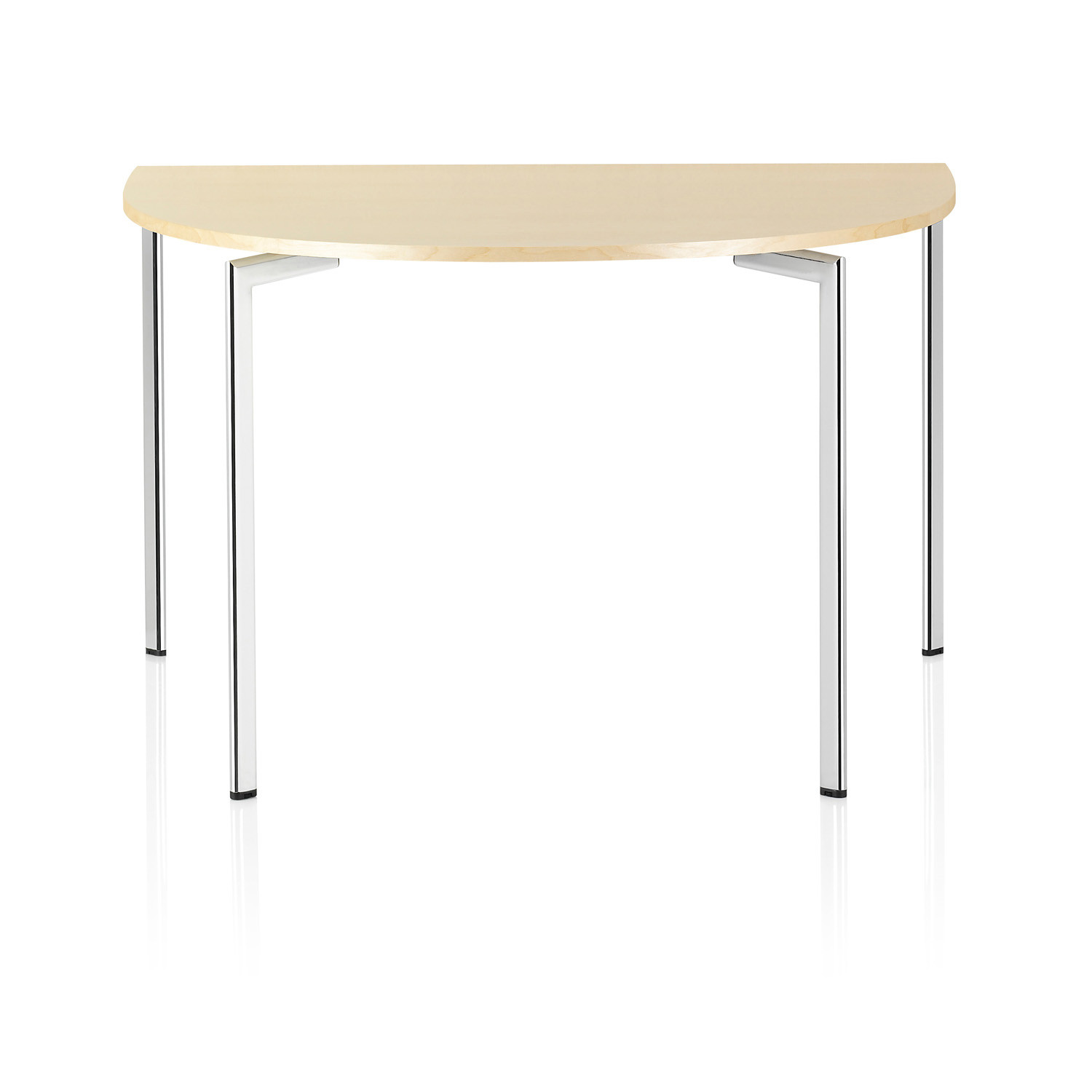Campus half oval conference table
