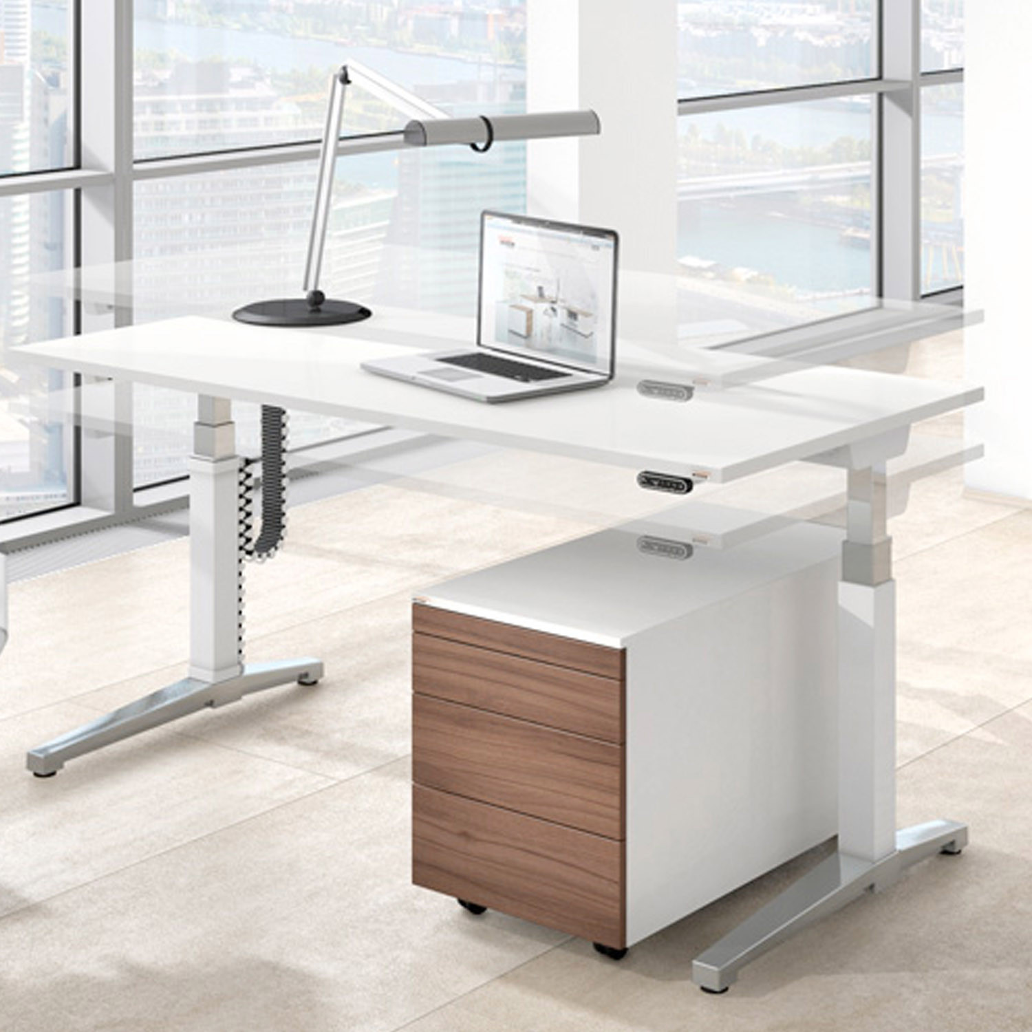 Canvaro Height Adjustable Desk