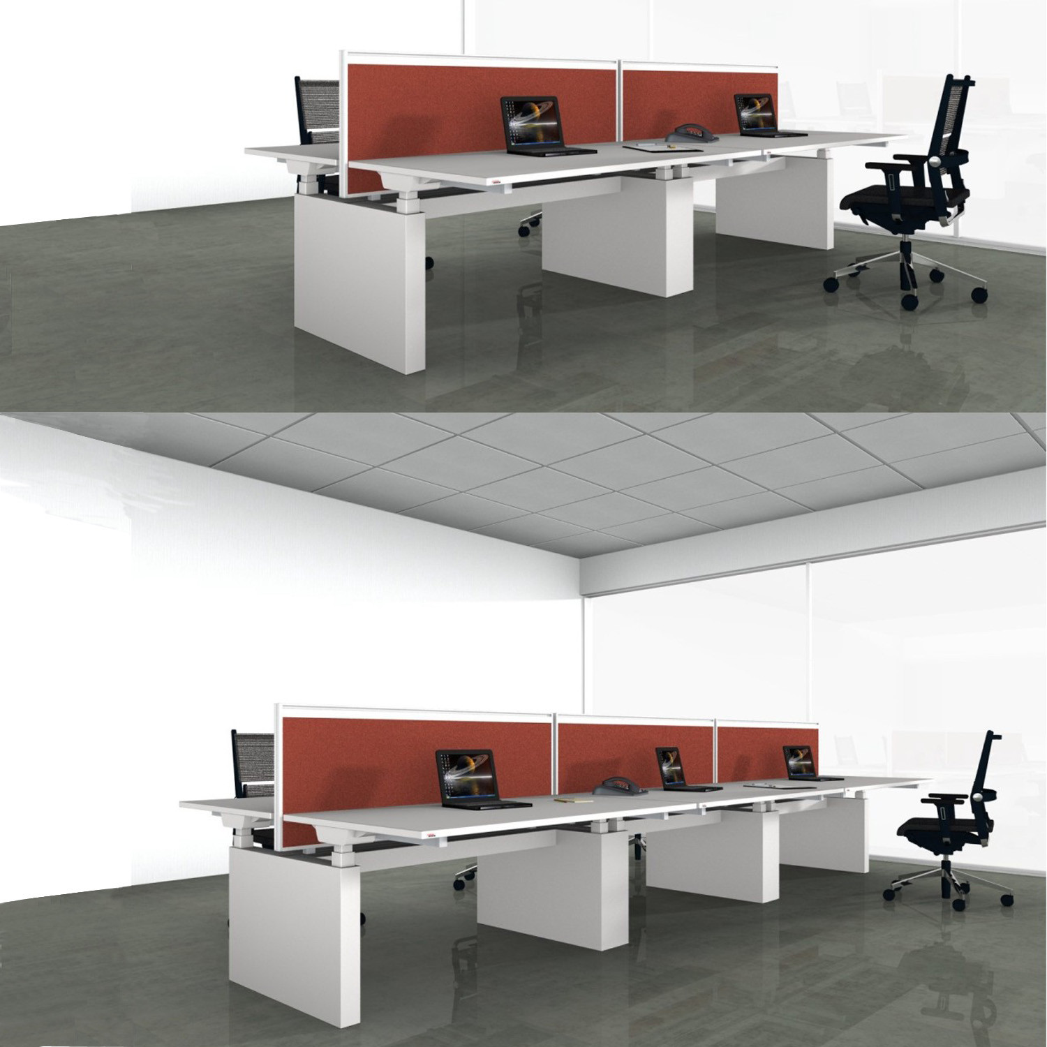 Canvaro Modular Bench Desks