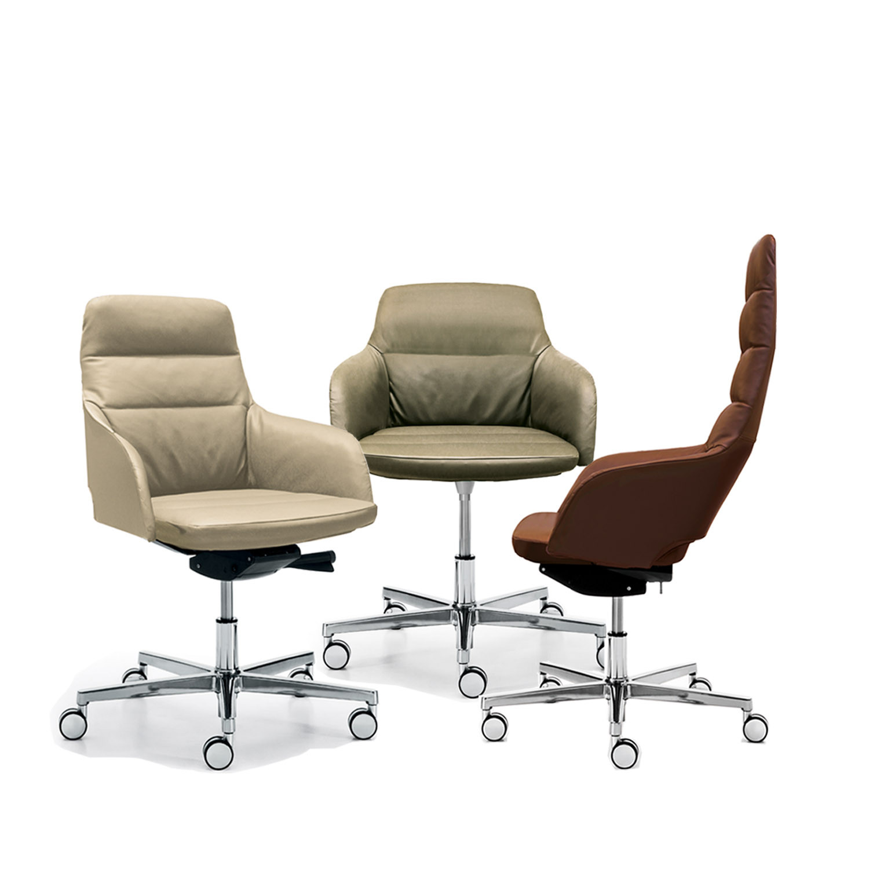 Captain Soft Executive Chairs Baldanzi & Novelli Seating
