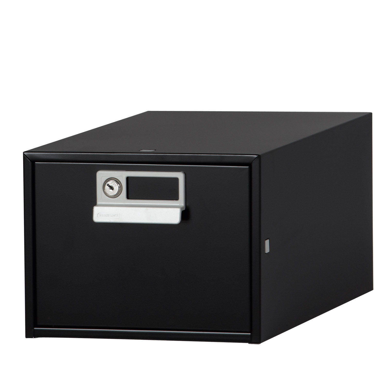 Card Index Drawer in Black