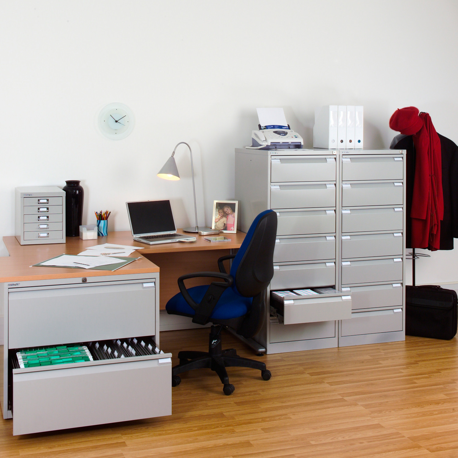 Card Filing Office Storage