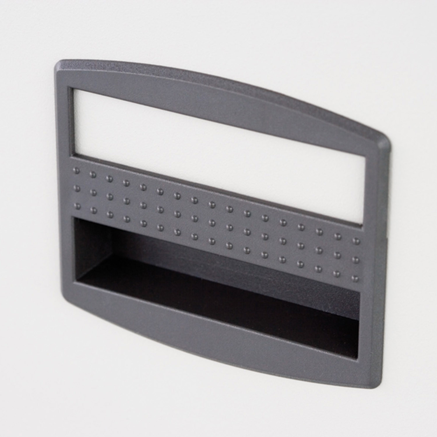Label Holder for CC Filing Cabinets