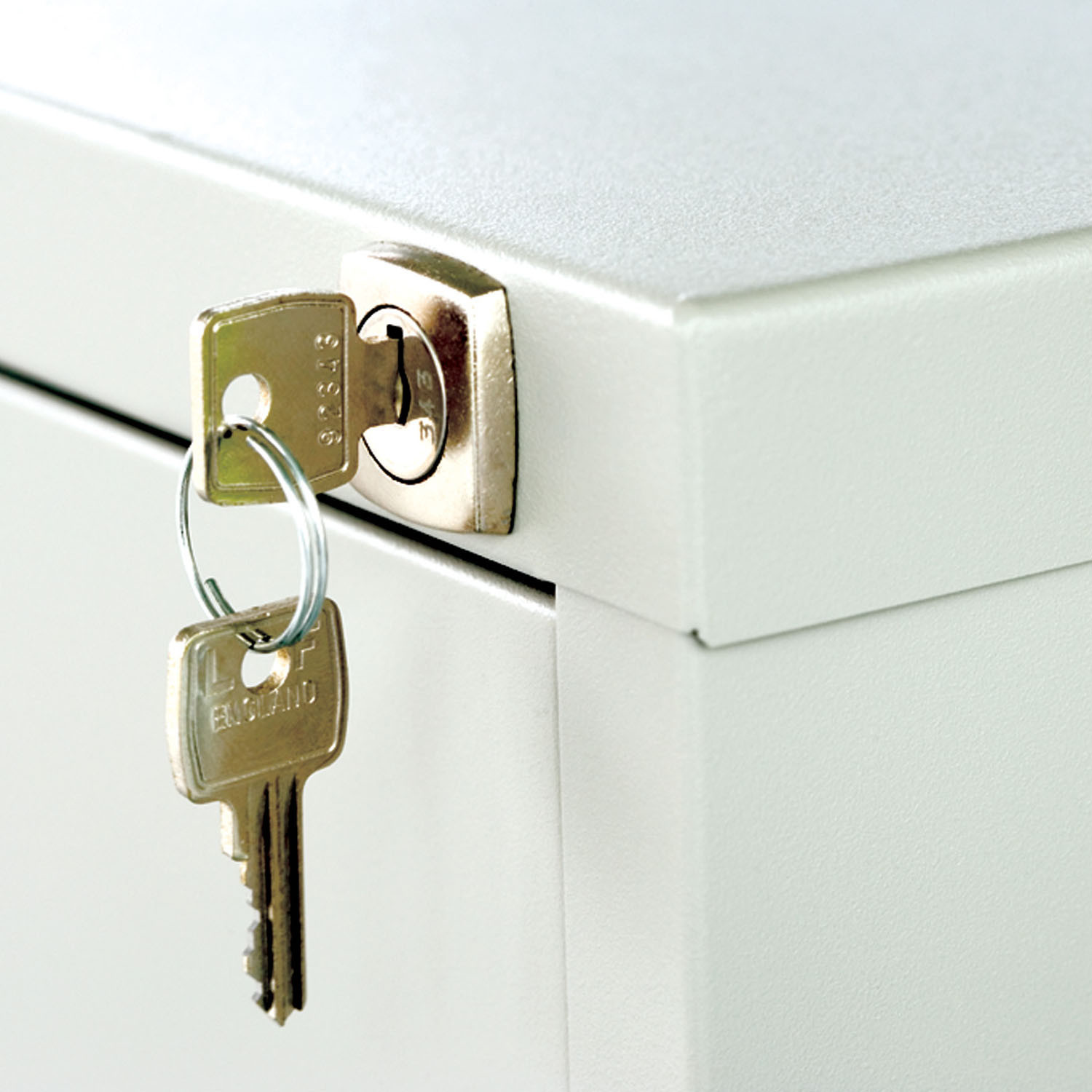 CC Filing Storage fitted with mastered lock