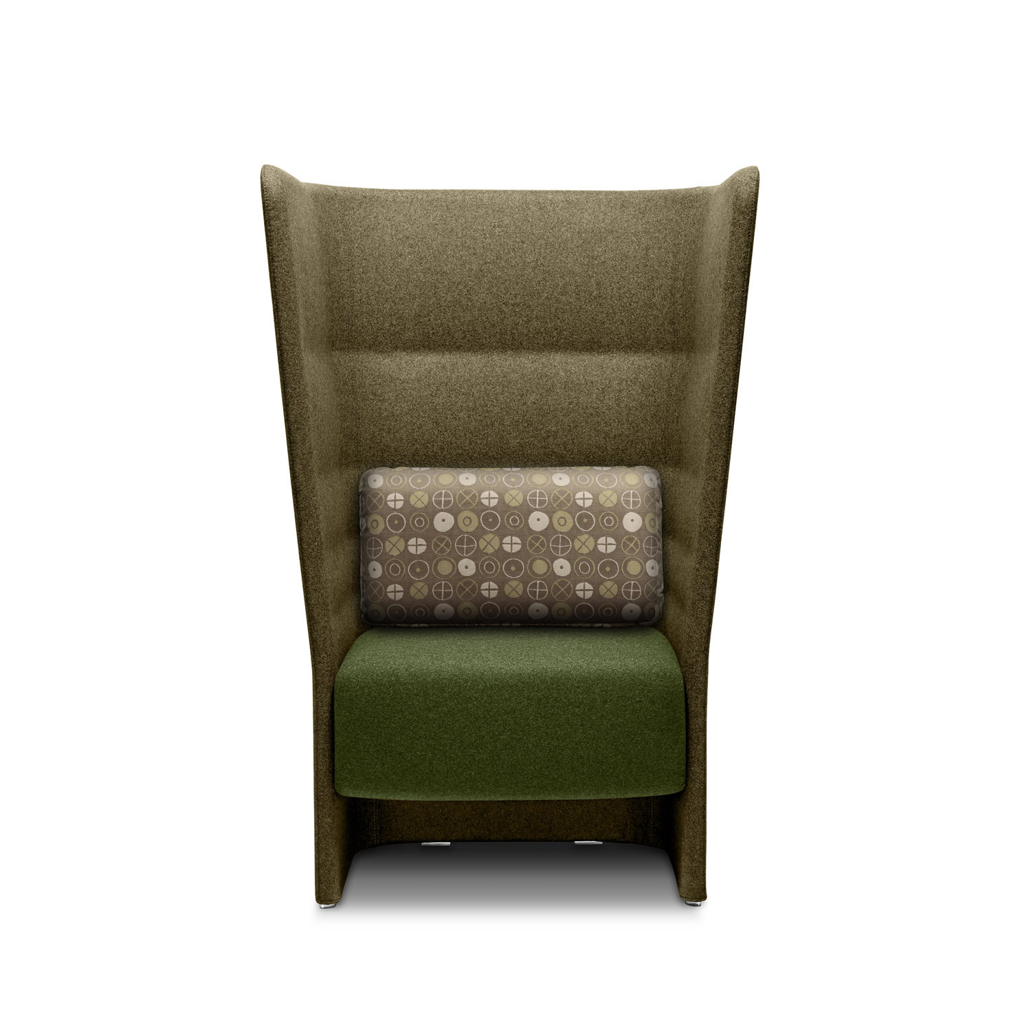 Cell 128 High Back Armchair
