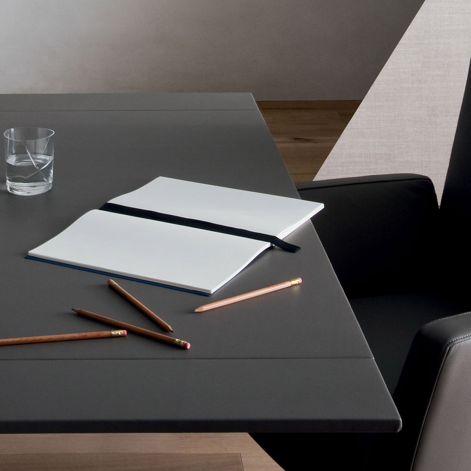 CEO Cube Office Table from Poltrona Frau