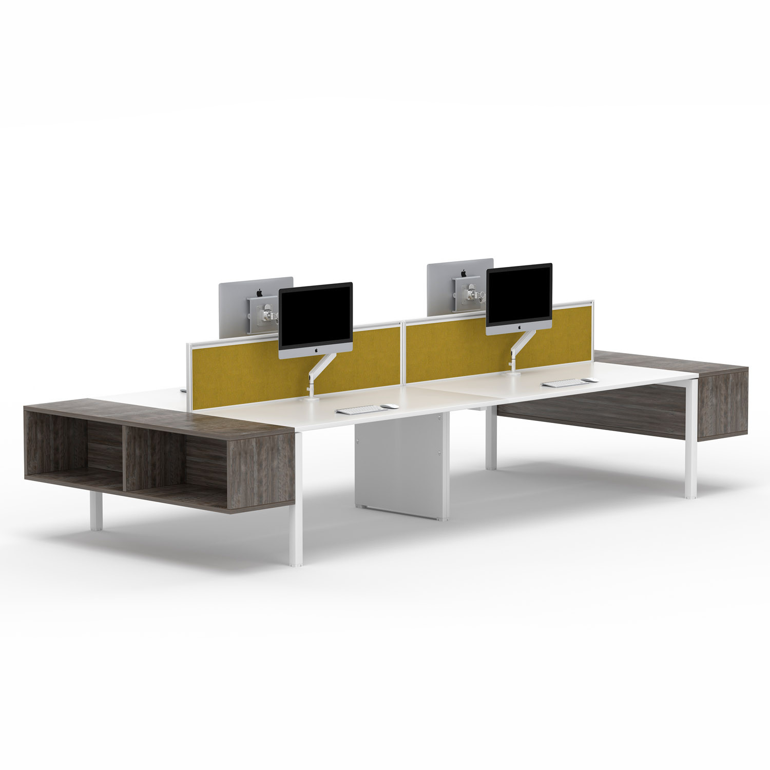 Chemistry Four Person Office Beam Desking