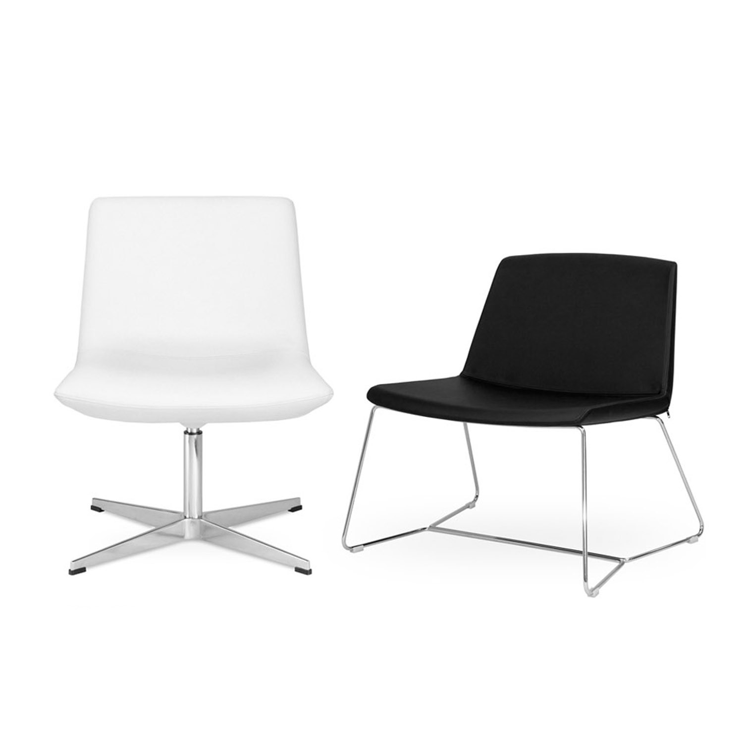 Chique Medium Back Lounge Chairs