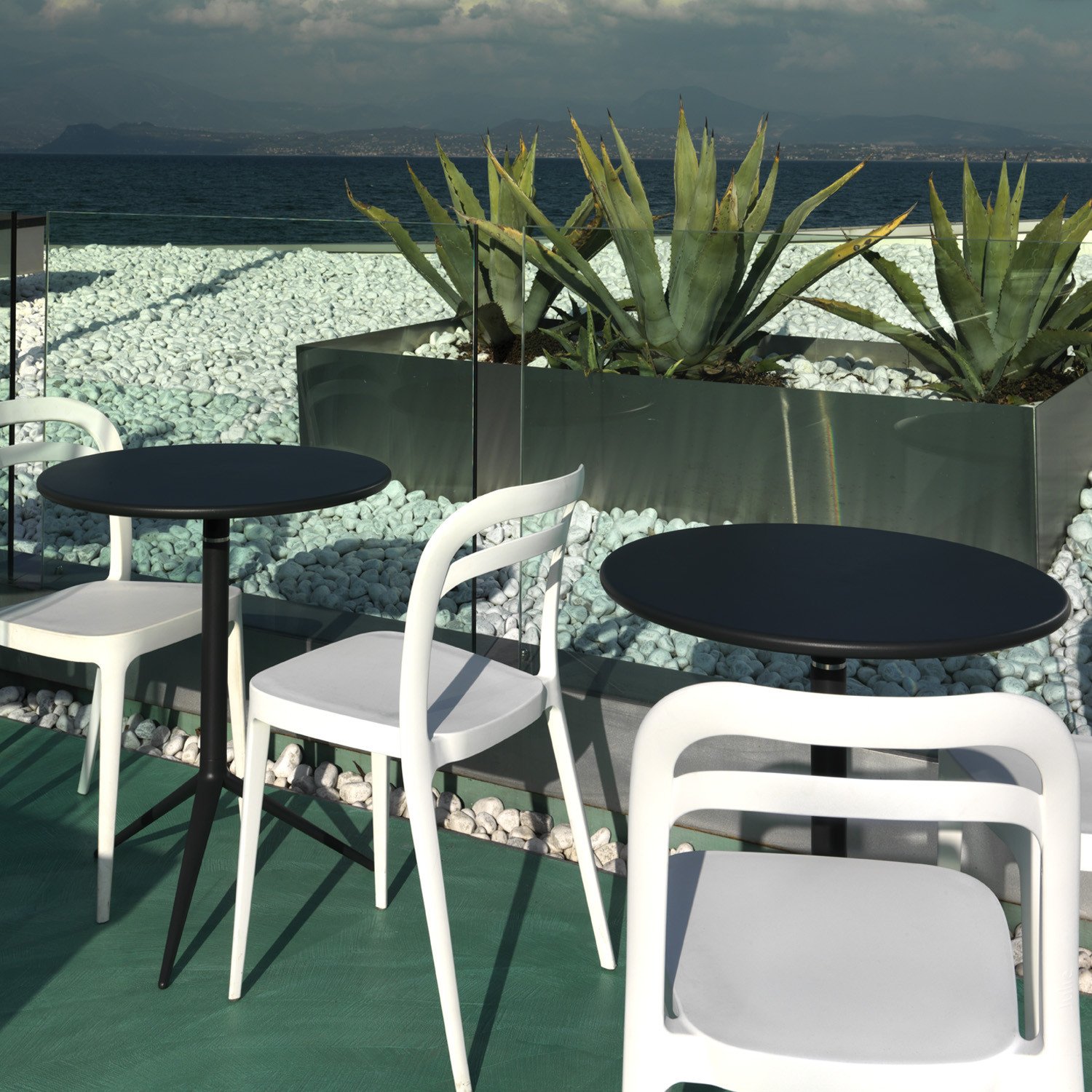 Ciak Outdoor Tables by MrSmith Studio