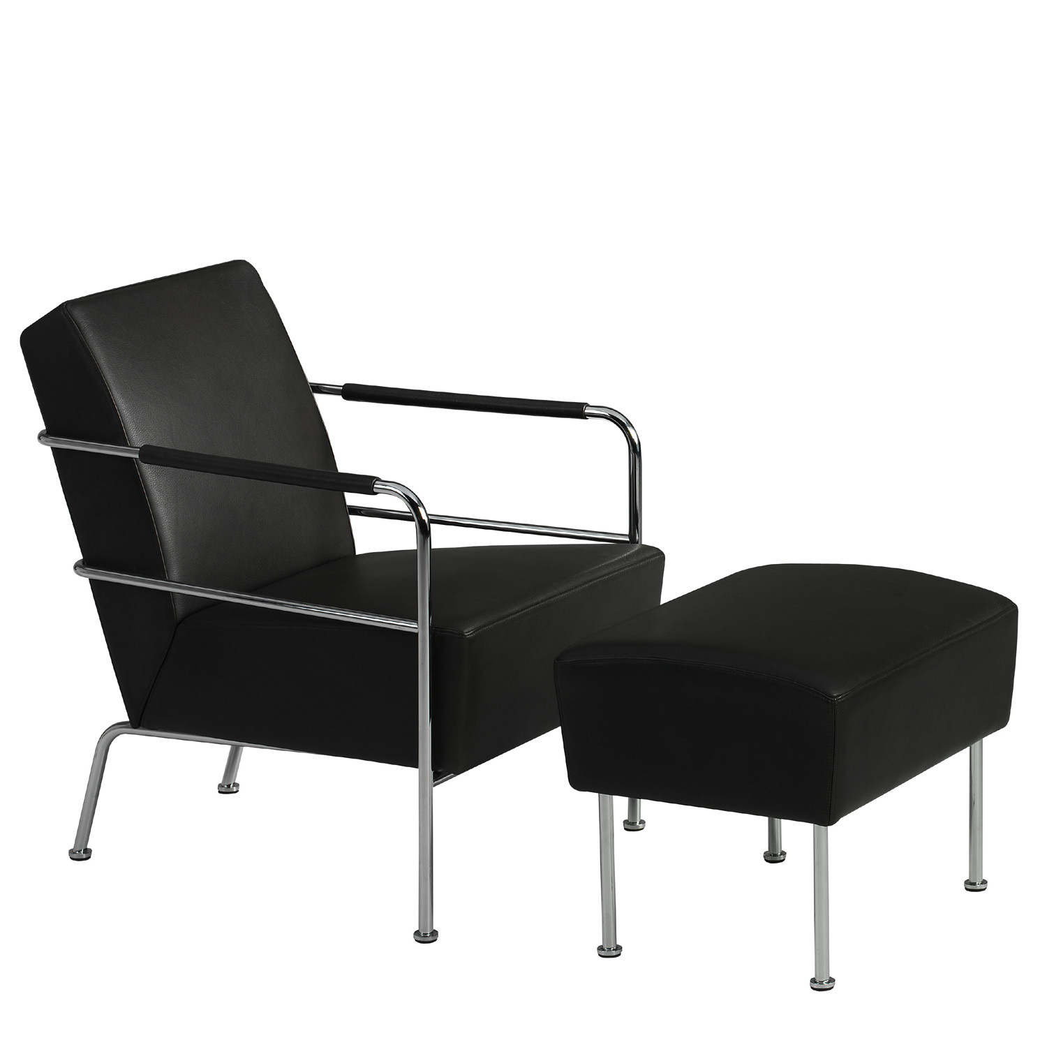 Cinema Easy Chair and Foot Stool