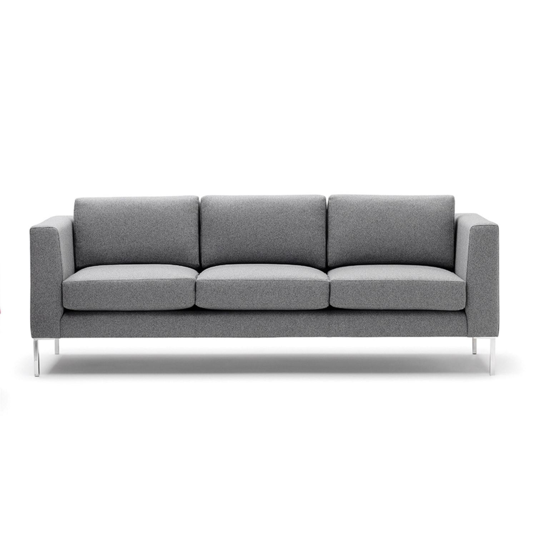 Clarence Large Sofa with Aluminium Legs
