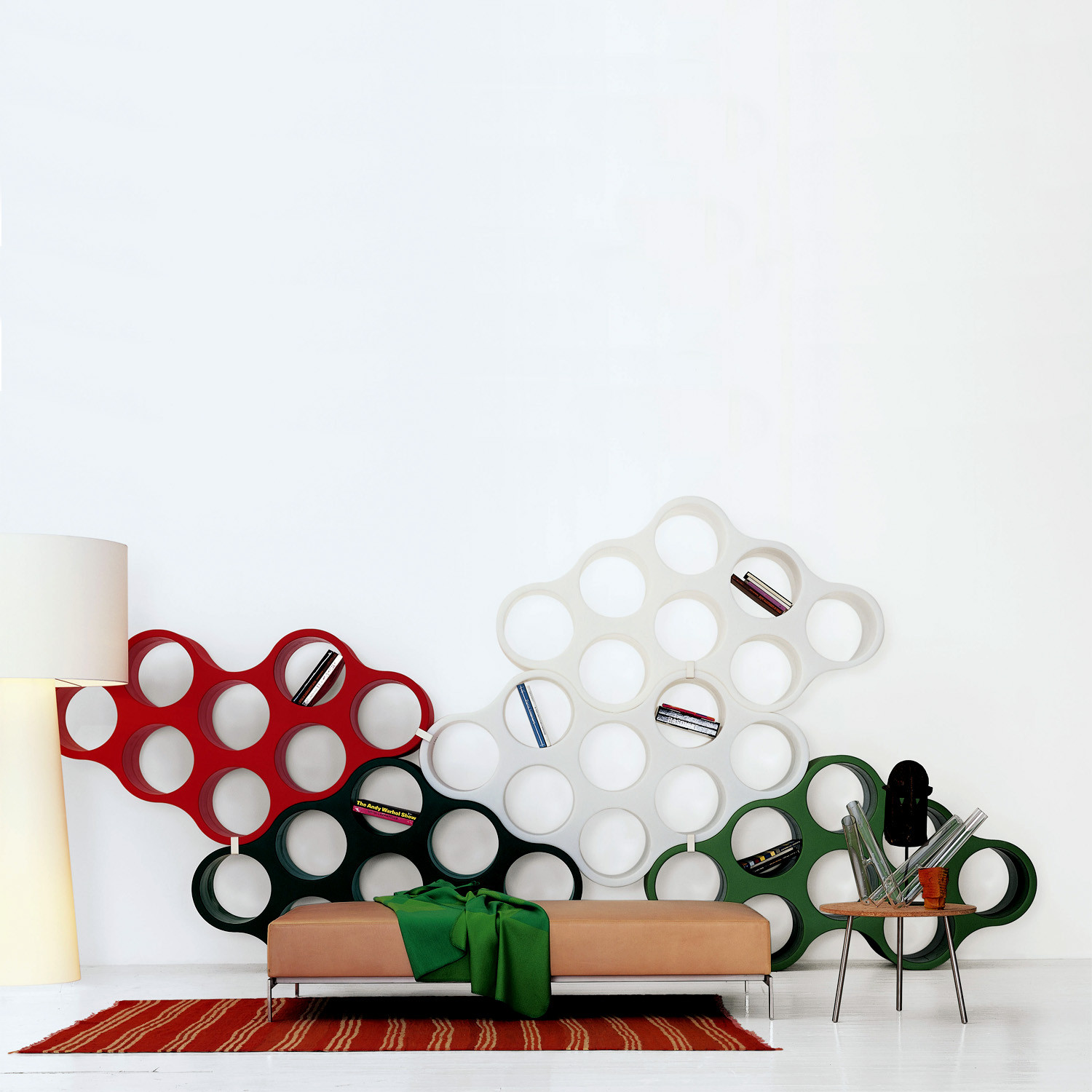 Cloud Bookshelves by Cappellini