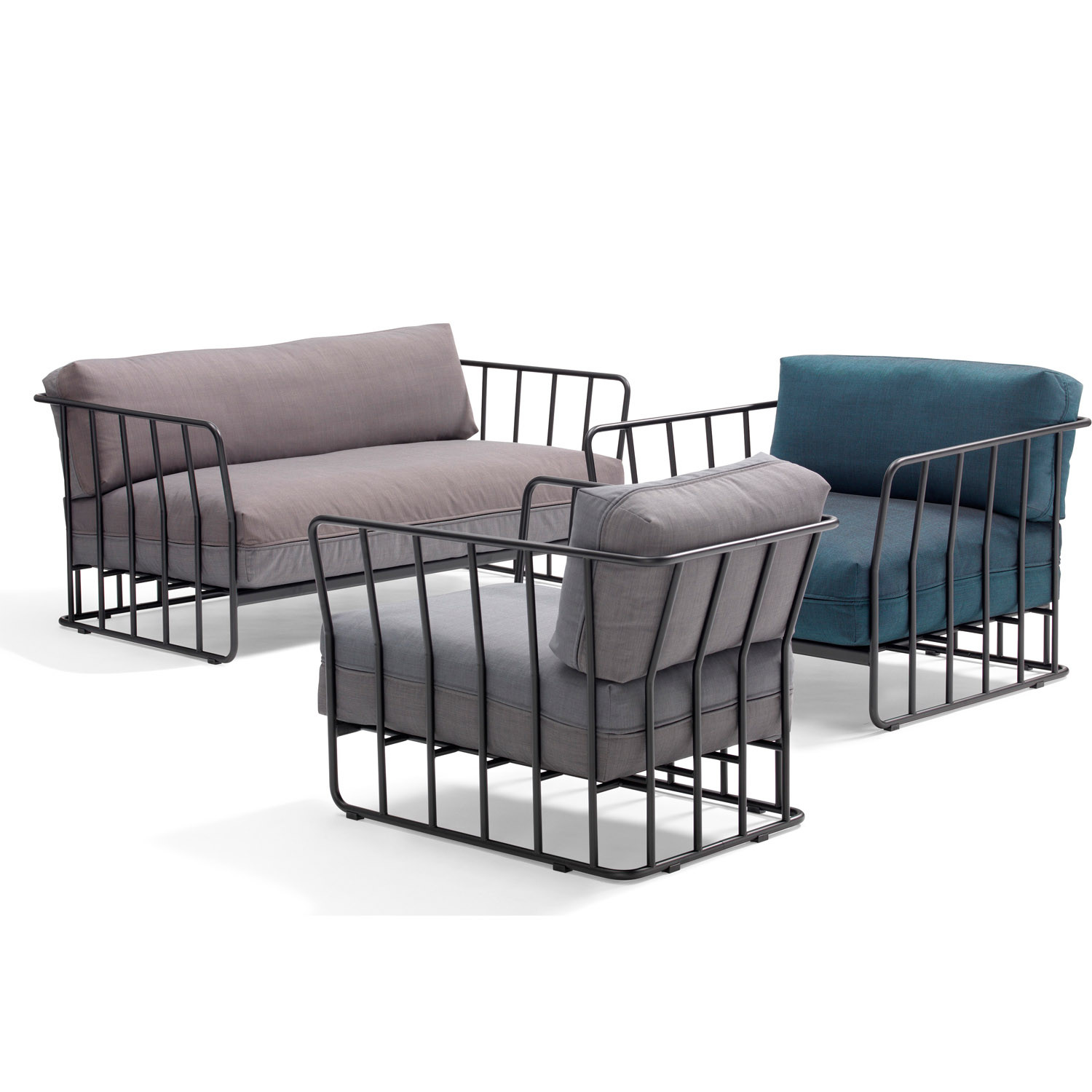 Code 27-B Modular Soft Seating