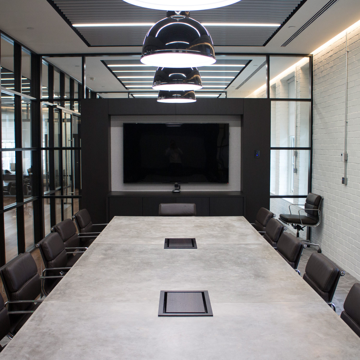 Concrete Conference Table