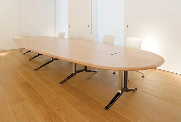Corsair Oval Meeting Table