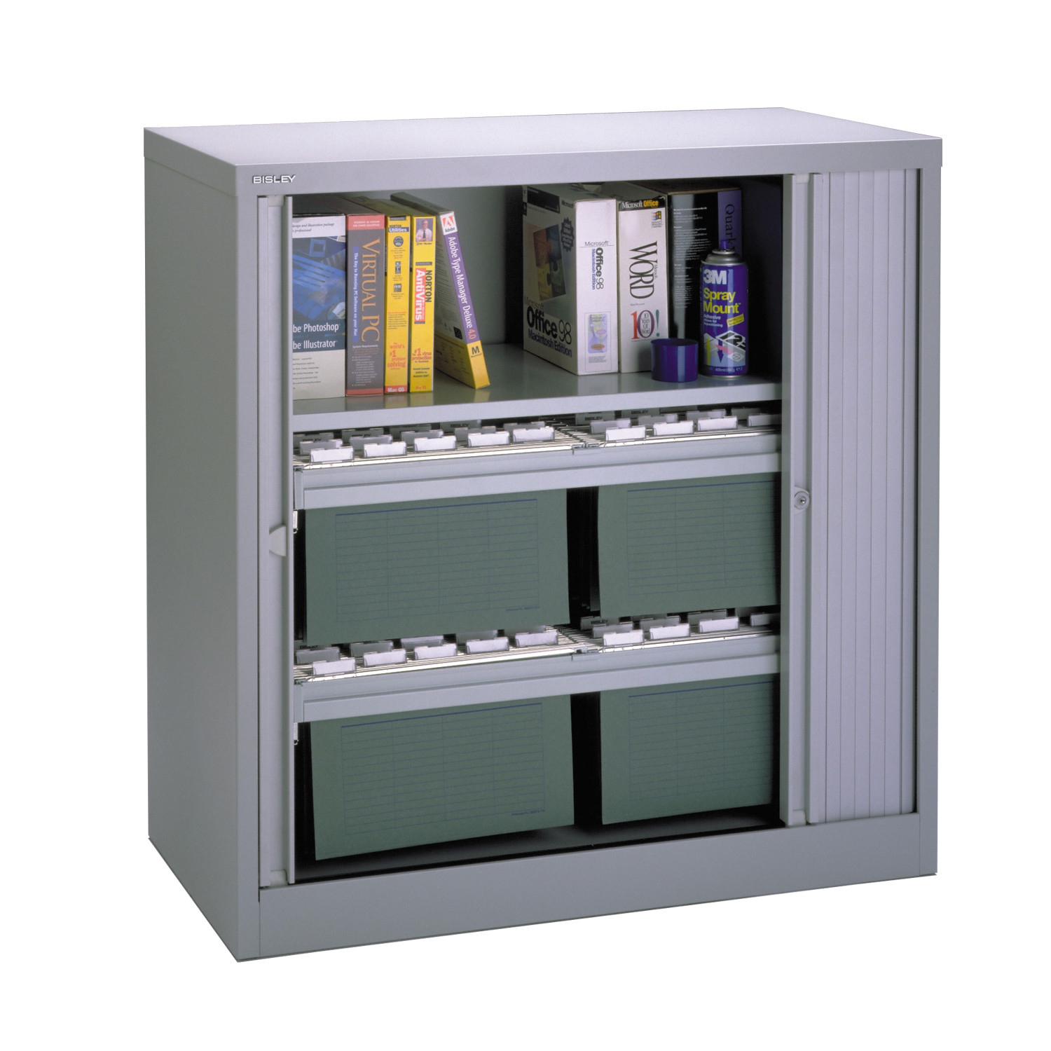 Contract Side Opening Unit with 3 Shelves