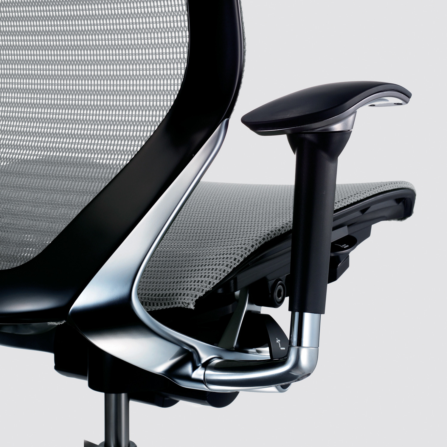 CP Task Chairs Mesh Back Detail