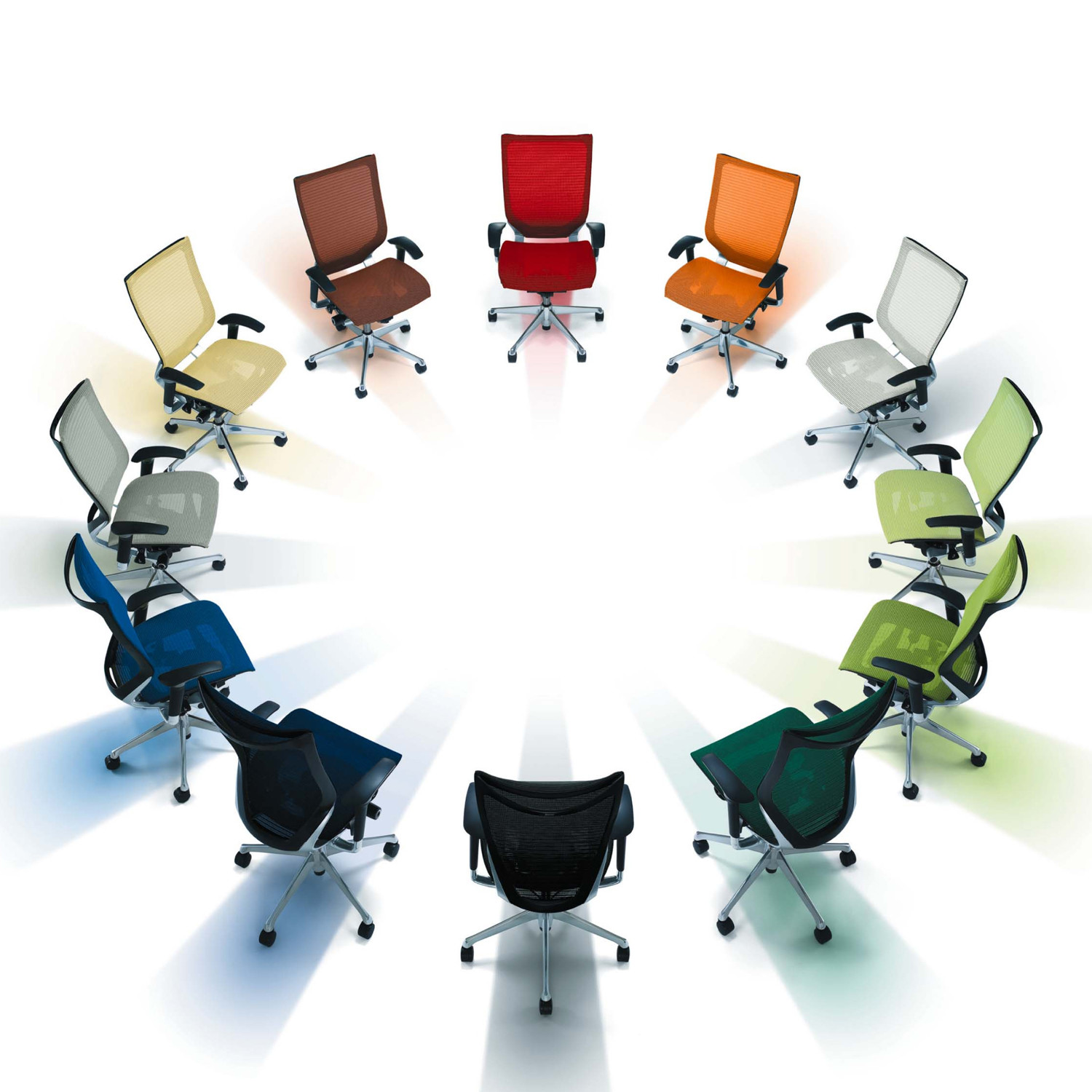 Okamura CP Task Chair Colour Options