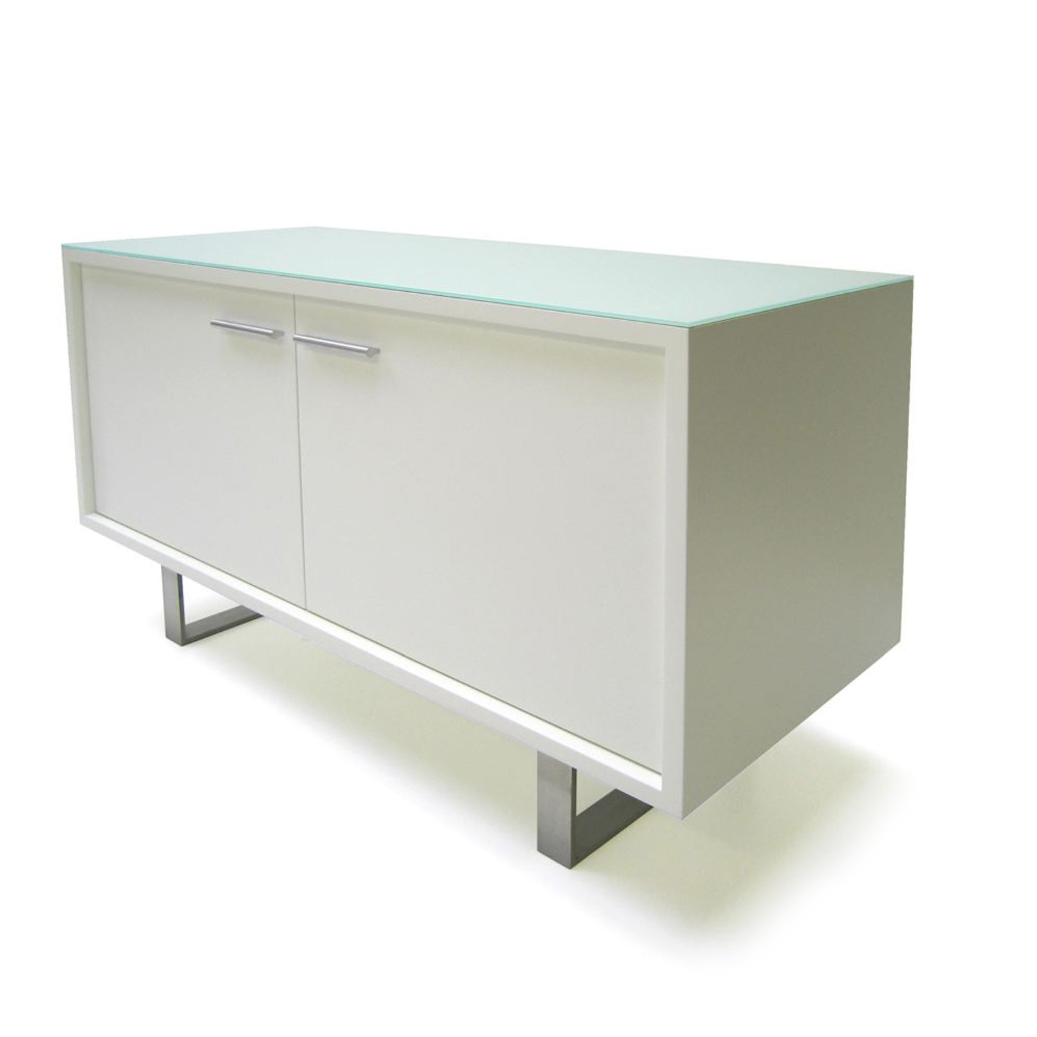Series 2 Credenza Unit - Glass Top
