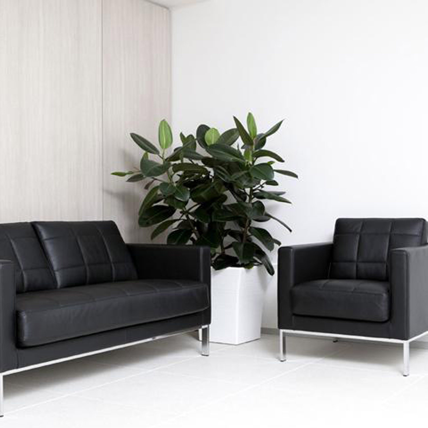 Cross Sofa and Armchair by ICF Spa