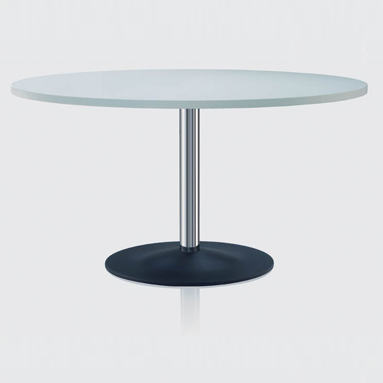 Cross Table with Glass Top