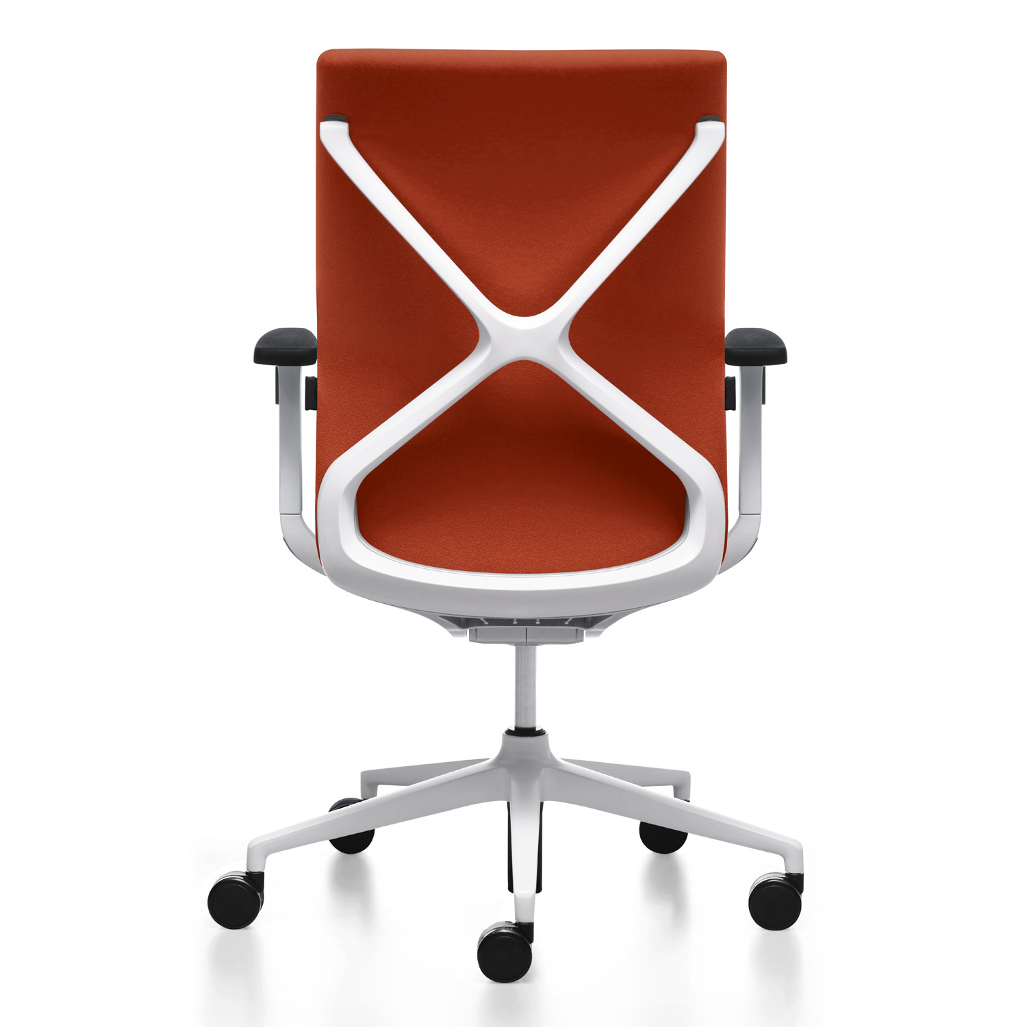 Crossline Task Chair back detail - white