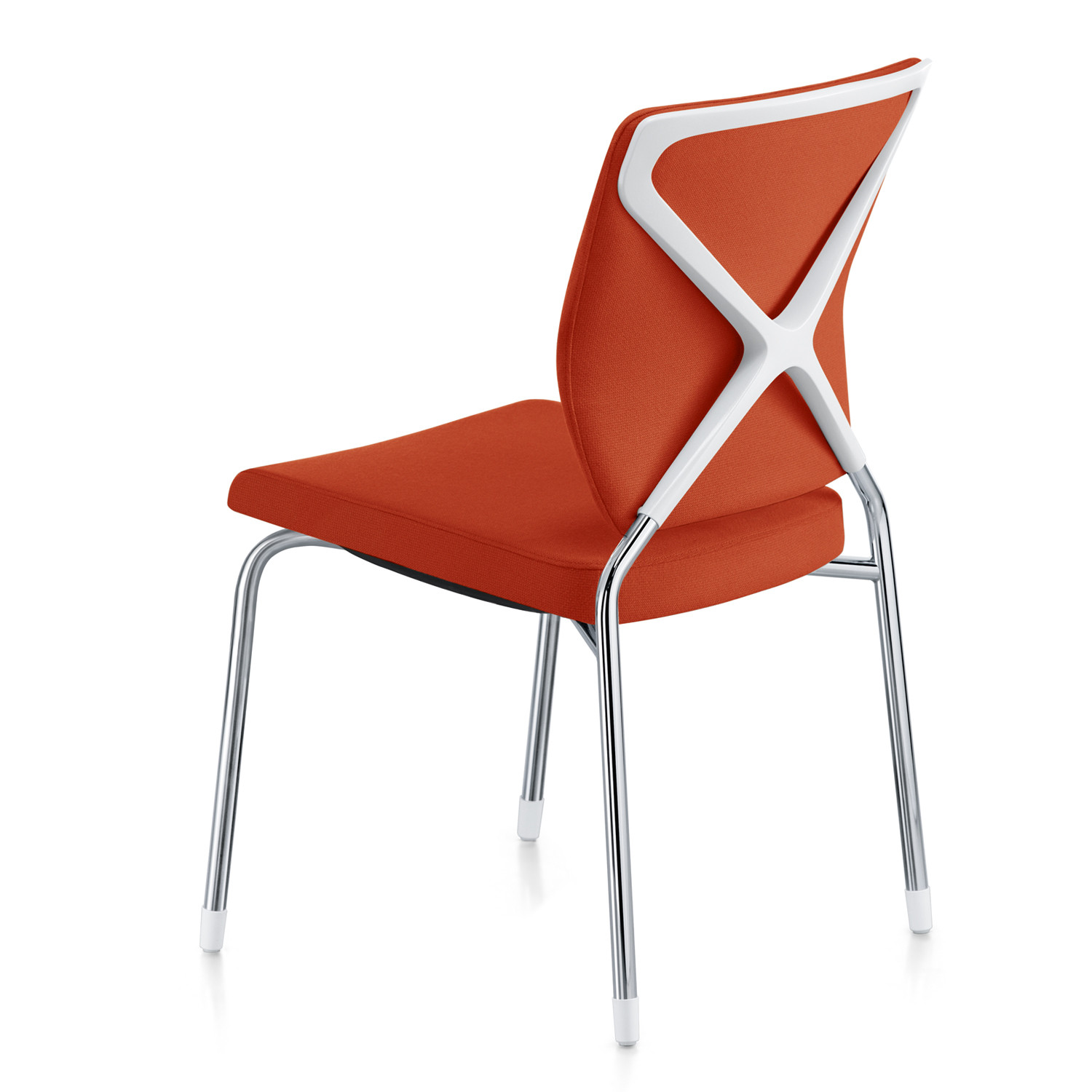 Crossline 4-Leg Chair without armrests