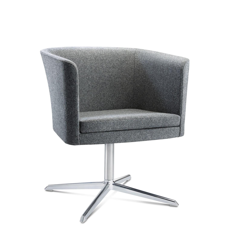 Crown Tub Swivel Chair