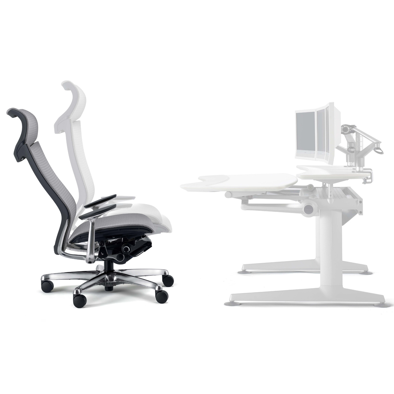 Cruise Workstation and Chair